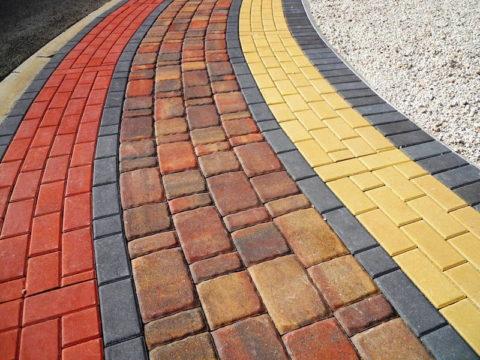 Изделия из цветного бетона