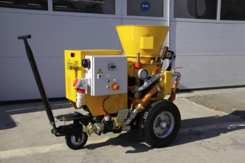 Машина для торкретирования бетона