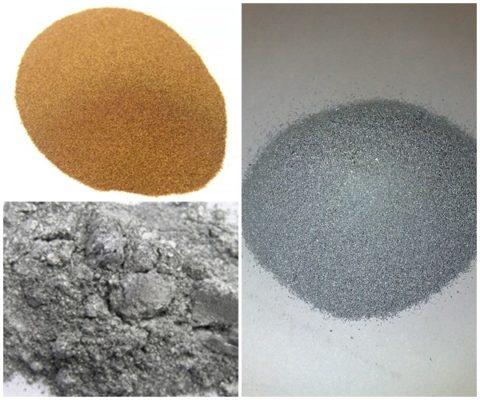 Металлические пигменты для бетона