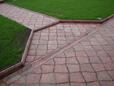 Отливы бетонные