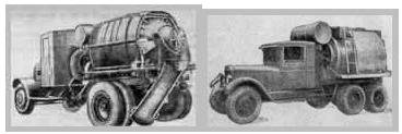 Первенцы серийных автобетоносмесителей в СССР