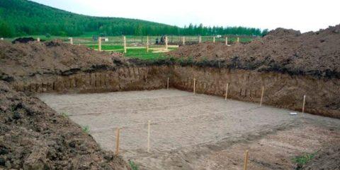 Площадка под строительство дома
