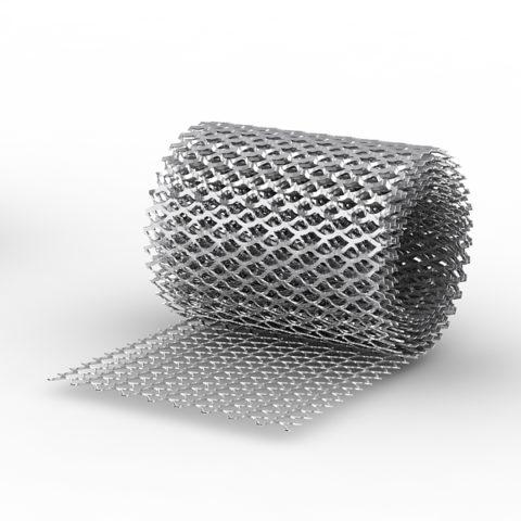 Просечно – вытяжная сетка в рулоне