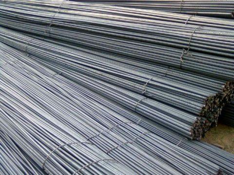 Прутки стальной армации