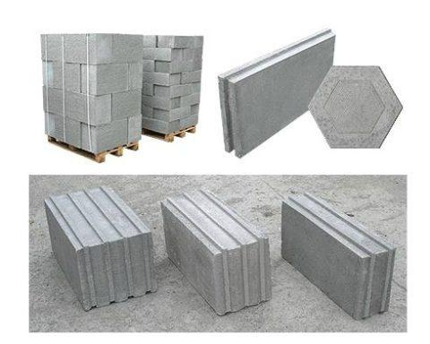 Размеры полистиролбетонных блоков, выбор производителей