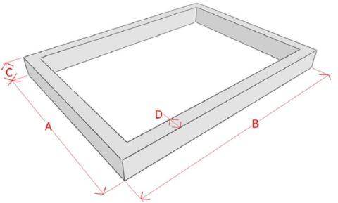 Схема для расчета