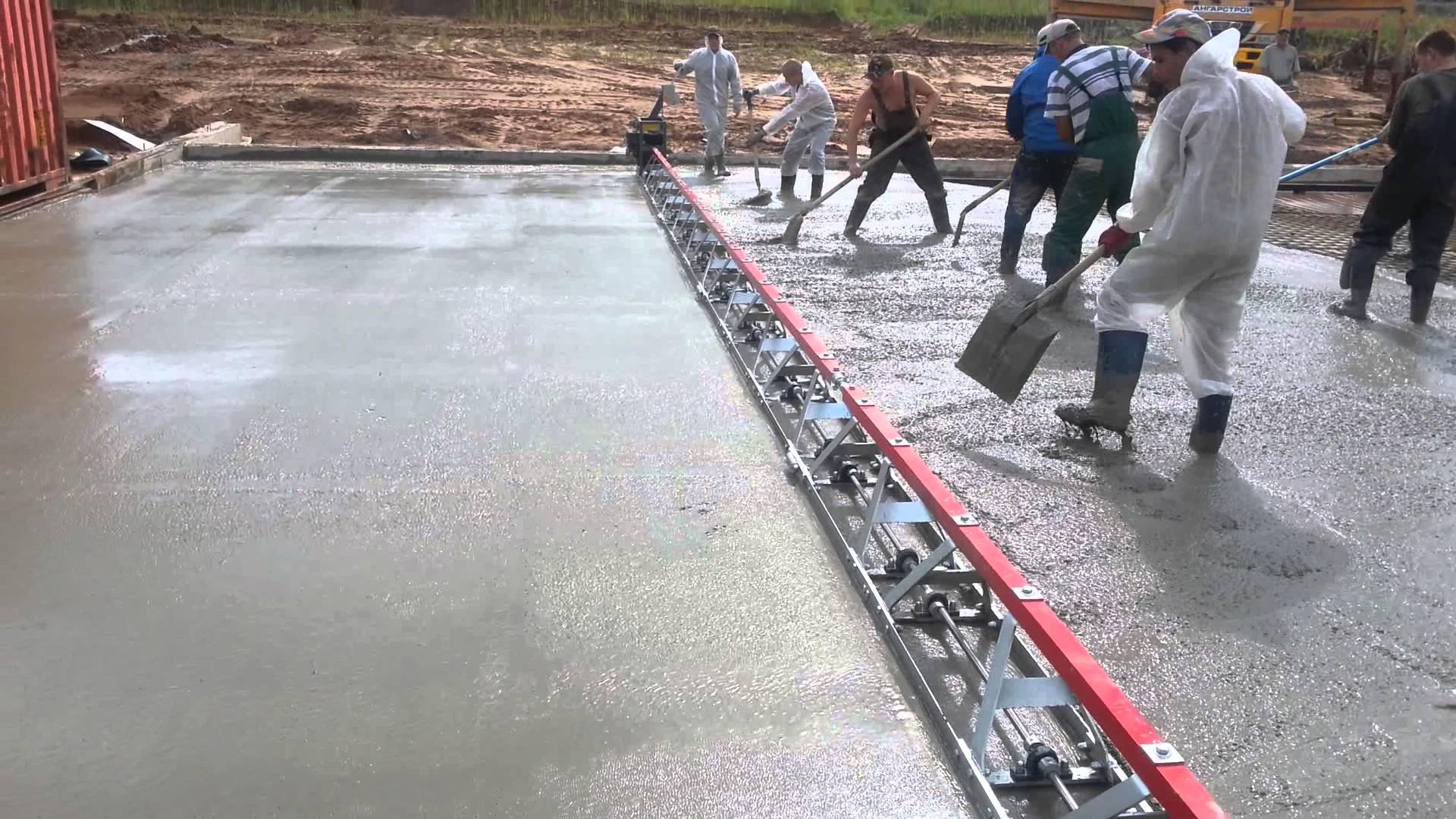 Чем вибрировать бетон своими руками