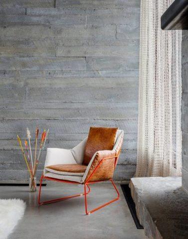 Выраженная фактурность бетона