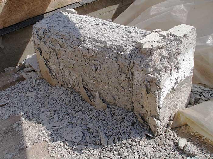 Газобетонный блок: водопоглощение приводит к разрушению