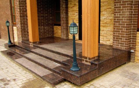 Бетонный мрамор практичный и красивый материал для внешней и внутренней декоративной отделки