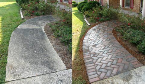 Брусчатка или монолитный бетон − выбор очевиден
