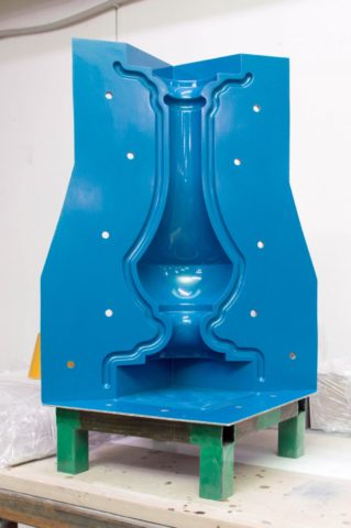 Форма для балясин заводского изготовления