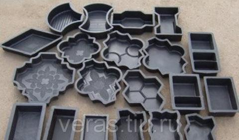 Формы для готовых изделий из бетонного мрамора
