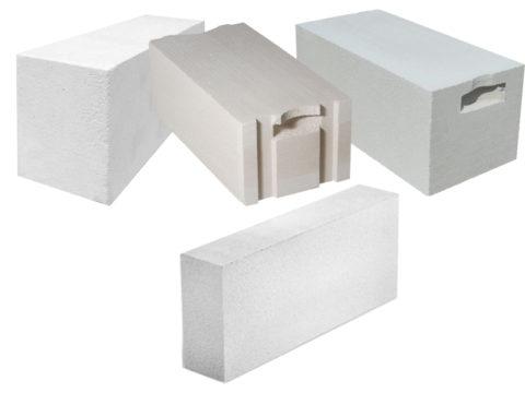 Фото блоков разной конфигурации
