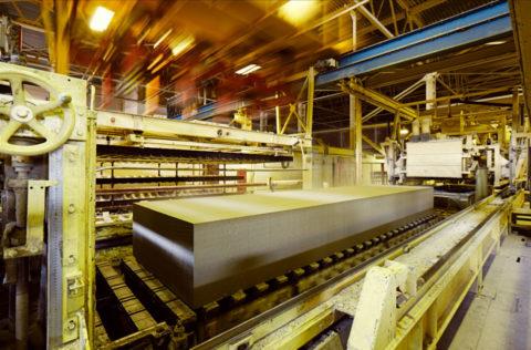 Фрагмент оборудование конвейерного типа