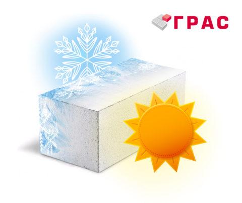 Газобетон - морозостойкий материал