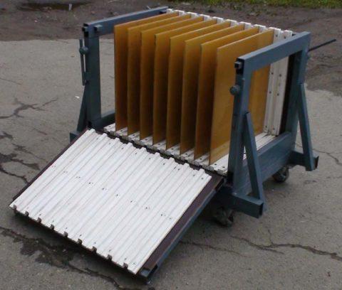 Кассеты для производства гипсобетонных плит