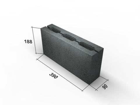 Легкие перегородки из бетона: перегородочный блок