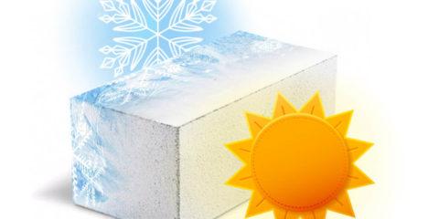 Морозостойкость достигает 150 циклов
