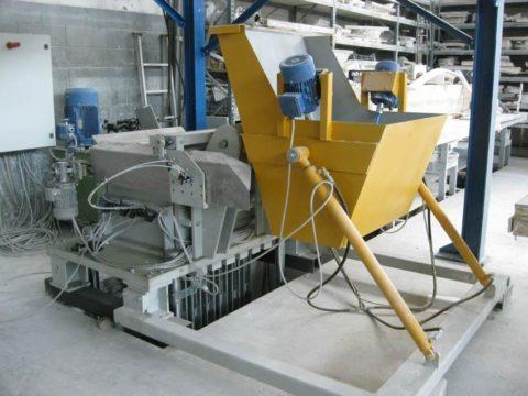 Оборудование для производства гипсобетона