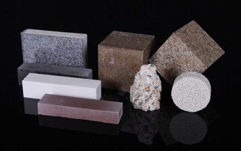 Образцы бетона с разными видами полимерных пластификаторов
