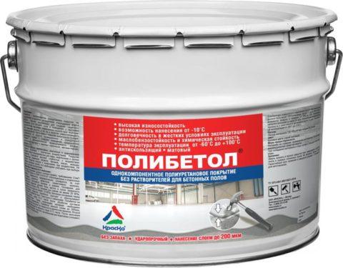 Полиуретановое покрытие для бетона