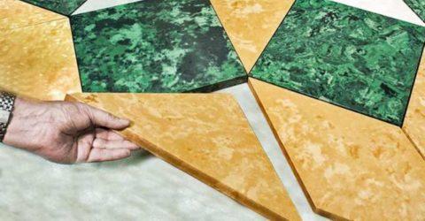 Швы между бетонными плитками будут заметны, только если сделать это специально