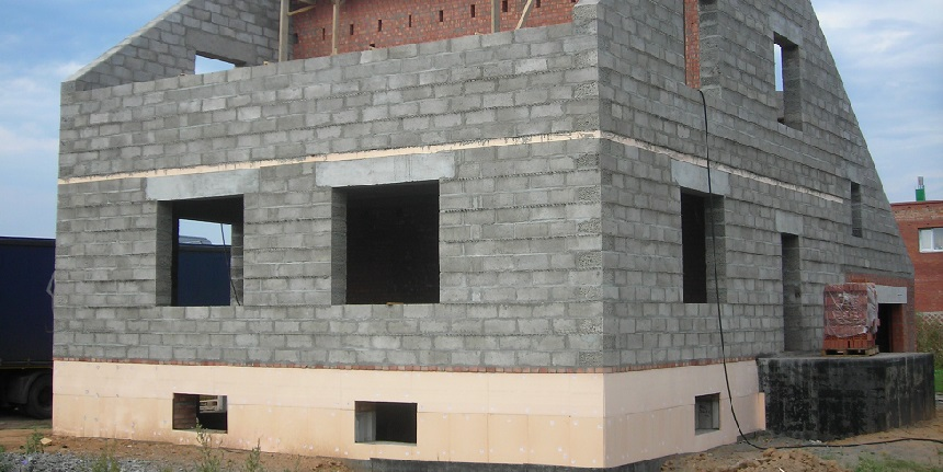 Проект гаража на склоне