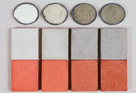 Варианты окрашивания бетона на разных цементах