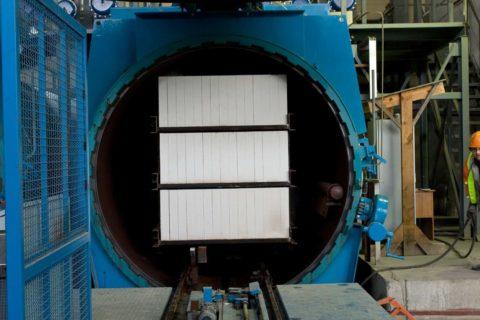 Автоклав для силикатобетонных изделий