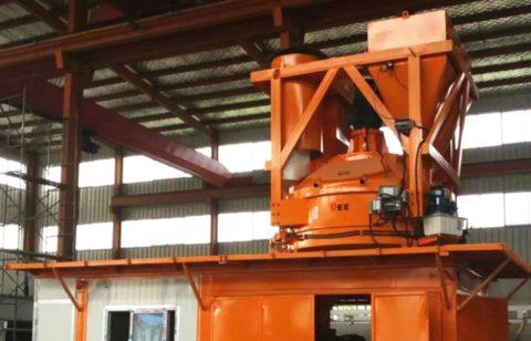 Автоматизированный завод по производству пенобетона