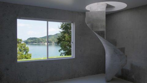 Авторский дом, проект которого разработал японский архитектор Казунори Фудзимото. Хиросима. Япония