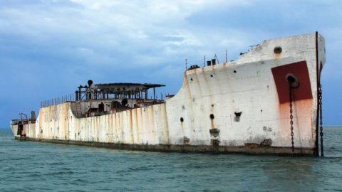 Бетонный корабль