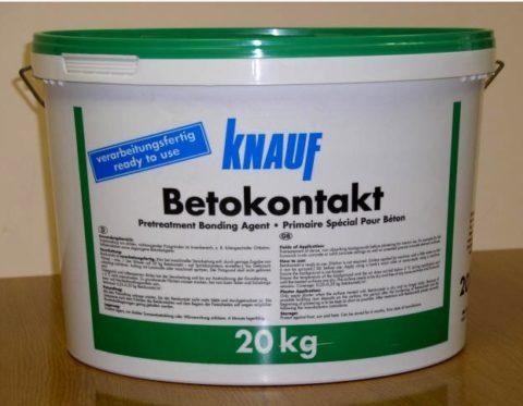 Бетоноконтакт от компании «Кнауф»