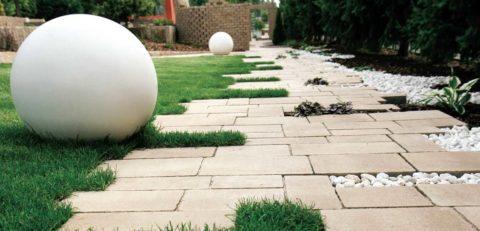Купить шар из бетона
