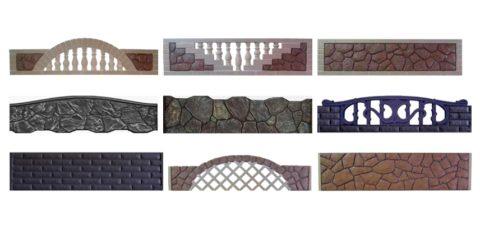 Формы для бетонных панелей