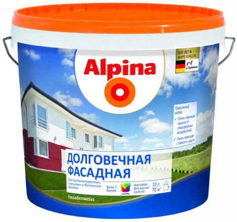 Краска для бетонных фасадов