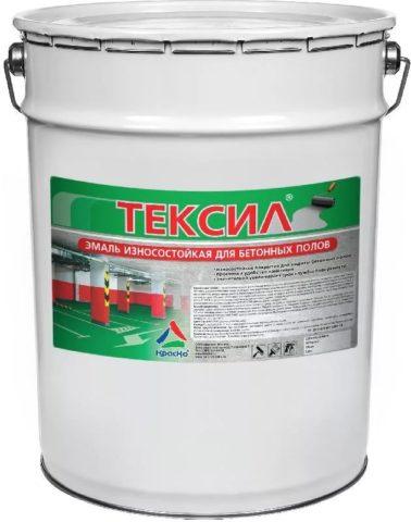 Краска Тексил для бетонных полов