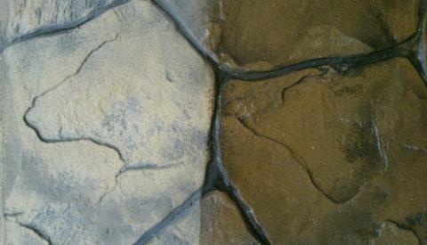 Лак на водной основе, нанесённый на бетонную поверхность