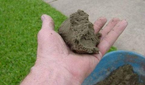 Нормальная консистенция бетона для заделки трещин и выбоин