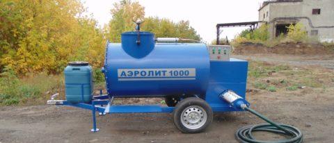 Оборудование для приготовления пенобетона с автоматизированной подачей