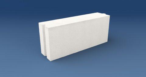 Перегородочное изделие из ячеистого бетона