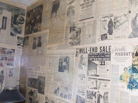 Подготовка бетонных стен под обои – оклеивание стены старыми газетами