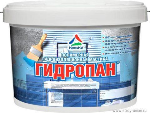 Полимерная гидроизоляционная мастика продается в плотно закрытой таре