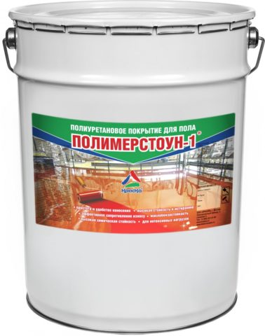 "Полиуретановая эмаль ""Полимерстоун-1"""