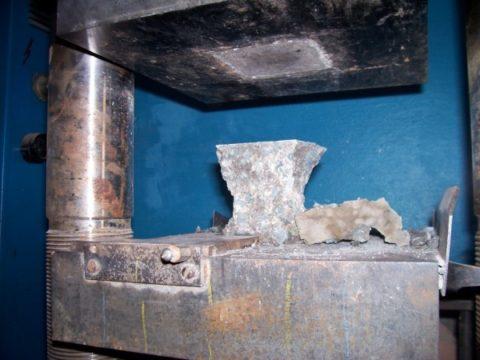 Прочность на сжатие и изгиб, марки легких бетонов по прочности
