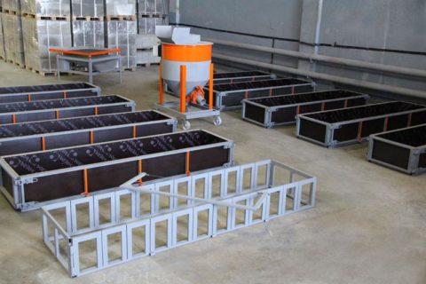 Производство блоков из газобетона