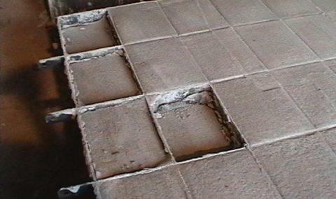 Размеры блоков пенобетонных нарушены усадкой при сушке