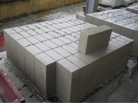 Разрезание монолита на блоки заданного размера