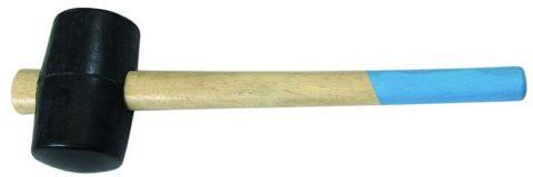 Резиновый молоток не наносит механический повреждений